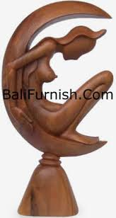 wood carving from bali indonesia