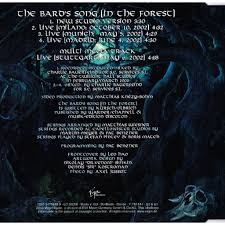 Blind Guardian 2013 The Bard U0027s Song In The Forest By Blind Guardian Cds With