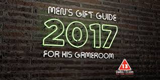men u0027s gift guide for his game room 2017 delta 13