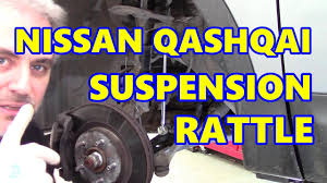 nissan qashqai near me nissan qashqai front suspension rattle youtube