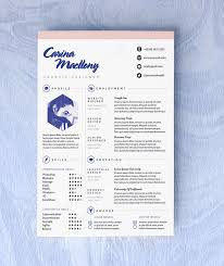 Template Resume Design 165 Best Resume Templates Images On Pinterest Resume Ideas