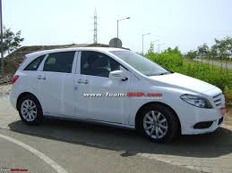 scoop mercedes b class caught testing in india team bhp