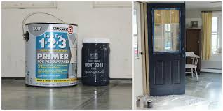 How To Paint A Front Door Without Removing It How To Paint A Door Without Removing It Charming Zebra Idolza