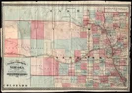 Nebraska Map Nebraska U0027s U201cghost U201d Counties Nebraska State Historical Society