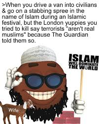 Anti Islam Meme - tariq nasheed on twitter notice when white supremacists post