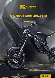 kuberg free rider owners manual for moto cross and pro street