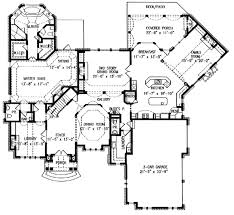 two story house plans with master on main floor european style house plan 4 beds 4 50 baths 4399 sq ft plan 54 104