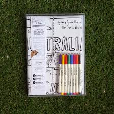 dear diary scribble it australia tea towel bee wished
