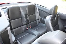 chevrolet camaro back seat 2011 chevy camaro 2lt convertible ridelust review