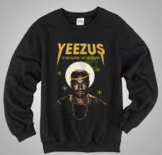 yeezus sweater yeezus is the reason sweater mpcteehouse