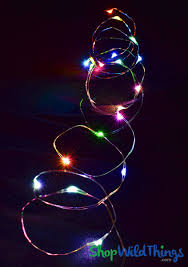 led fairy string lights fairy string lights with 20 led s multicolor colorful rainbow