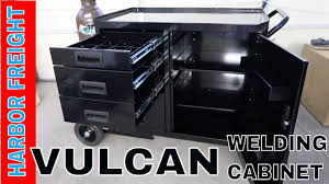 welding cabinet with drawers harbor freight vulcan welding cabinet review and a vintage rv