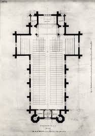 Ground Plan by Ground Plan Of The Church Of The Holy Trinity Toronto 1847