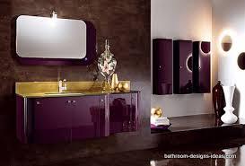magic purple bathroom