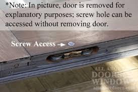 Removing A Patio Door How To Adjust Sliding Door Rollers