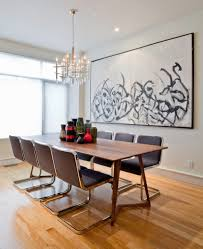 Contemporary Dining Rooms by 10 Dining Rooms With Oversized Art