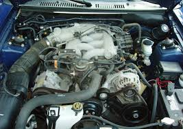 3 8 v6 mustang engine sonic blue 2003 ford mustang coupe mustangattitude com photo detail