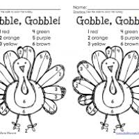 Thanksgiving Color By Number Thanksgiving Turkey Pictures To Color Bootsforcheaper Com