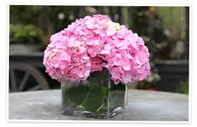 Cube Vase Centerpieces by Flower Arranging By Vase Goop
