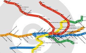 Metro Map Washington by Programmer Creates Metro Map Based On Travel Time Vox Populi
