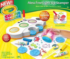 crayola color wonder light up stamper toys