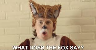 What Did The Fox Say Meme - what does the fox say gifs get the best gif on giphy