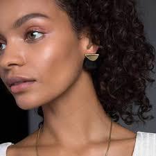 grande earrings contrast sabi earrings