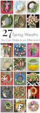 easy spring wreaths to make in an afternoon