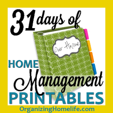 organized home printable menu planner 31 days of home management binder printables day 30 holiday meal