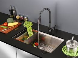 Kitchen Sink Faucet With Pull Out Spray Ruvati Citadel Single Handle Kitchen Faucet With Pull Out Spray