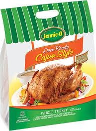 cajun seasoned oven ready whole turkey jennie o product info