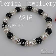 pearl bracelet designs images 2018 special design jewelry mixes black agate white fresh water jpg
