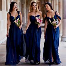 navy blue bridesmaid dress navy blue bridesmaid dress chiffon bridesmaid dress