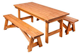 rustic outdoor picnic tables rustic outdoor event equipment rustic picnic table with 2 trestle