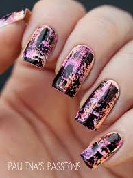 distressed nails inspired by chalkboard nails