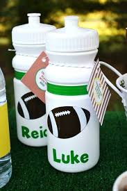 football party favors these make a great end of the season party favor personalized