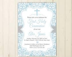 communion invitations for boys communion invitation boy printable communion