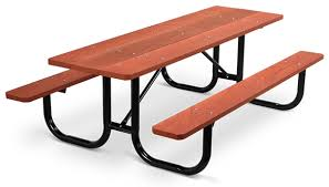 Park Bench And Table Park Master Picnic Tables Wood Belson Outdoors