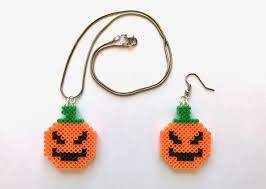 halloween bat perler bead earrings perler bead halloween 8