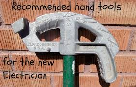 recommended hand tool list for the apprentice electrician dengarden