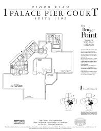 Floor Plan Services Real Estate by Palace Place Floor Plans Archives Palace Place 1 Palace Pier Court