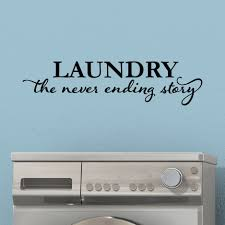 wall decals you love wayfair laundry never ending story wall decal