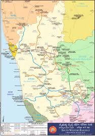Vasco Da Gama Route Map by South Western Railway