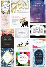 Affordable Wedding Invitations With Response Cards 35 Stylish Wedding Invitations That You Can Actually Afford A