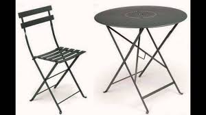 Black Bistro Table And Chairs Bistro Table And Chairs Youtube
