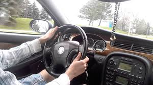 jaguar x type test drive youtube