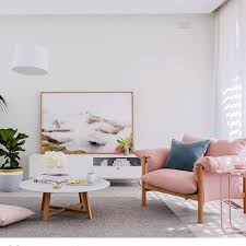 remarkable pink and white make a gorgeous light filled room and