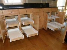 Pull Out Cabinet Shelves by Kitchen Pull Out Drawers Underneath You Can Open Up The Two Doors