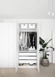 wardrobe organization bedroom organization progress