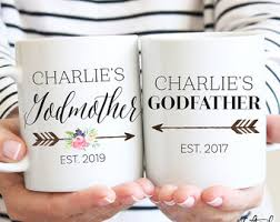 godmother mugs godparents gift gift for godparent godmother mug godfather